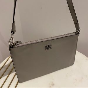 Michael Kors Convertible Leather Pouchette
